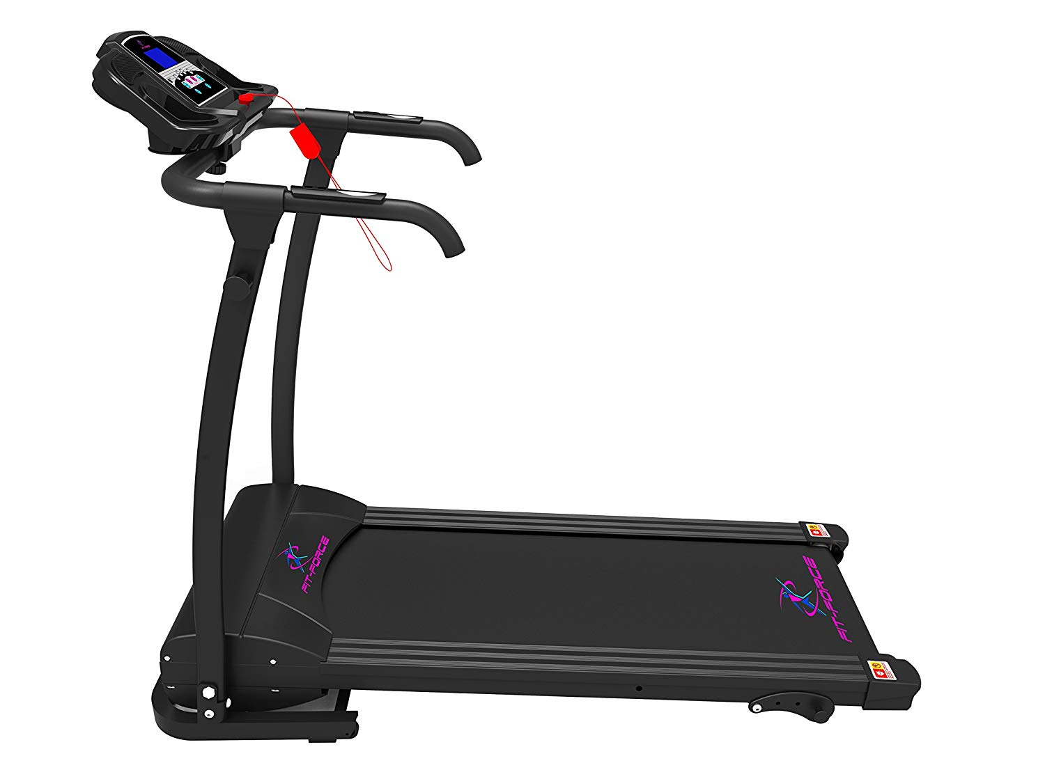 Analizamos la cinta para correr Fit-Force plegable de 1500W