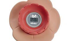 Termómetro digital para ducha y baño bebé 920305 de Béaba Lotus, antibacteriano, seguro y fácil de usar