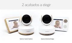 """Vigilabebés FB001 de Availand con pantalla LCD 3,5"""" a color y cámara de visión nocturna, en blanco"""