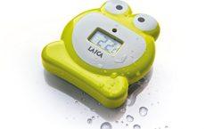 Termómetro digital para ducha y baño bebé TH4007 de Laica, higiénico y fácil de usar