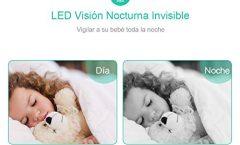 """Vigilabebés GHB 276 con pantalla LCD TFT 3,2"""" y cámara de visión nocturna"""