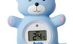 Termómetro digital para ducha y baño bebé VM-02E de Visiomed, seguro
