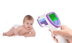 Termómetro digital para bebé GHB 1552 con pantalla LCD, antibacteriano, seguro y fácil de usar