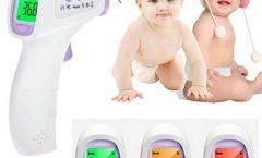 Termómetro digital para bebé SYMTOP GE-170553501 con pantalla LCD, seguro