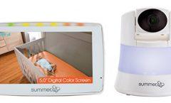 """Vigilabebés Summer Infant 29586 con pantalla LCD 5"""" a color y cámara de visión nocturna"""