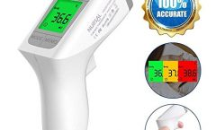 Termómetro digital infrarrojos para bebé NURSAL NURSAL con pantalla LCD