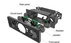 Altavoz Bluetooth Portátil JQSW-AV252R95 de Boomboost 10 W y con una autonomía de 5 horas