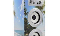 Altavoz Bluetooth Portátil DYNASONIC 025-9 karaoke 10 W y con una autonomía de 8 horas, en multicolor