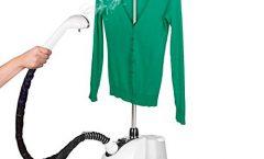 Plancha a vapor Omnidomo IG112273 1500 W con suela antiadherente, blanco y verde