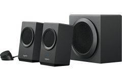 Altavoz Bluetooth Portátil Z337 de Logitech karaoke 80 W, en negro