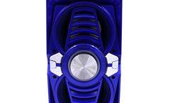Altavoz Bluetooth Portátil I.T.K. 735 karaoke 10 W y con una autonomía de 20 horas, en azul