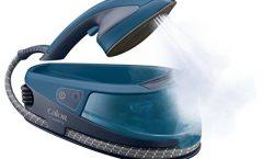 Plancha a vapor Calor NI5010C0 1500 W con suela de cerámica, azul