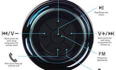 Altavoz Bluetooth Portátil FJ584-A de Haissky impermeable, en negro