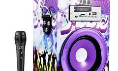 Altavoz Bluetooth Portátil 104110494-3-AM2 de Music Life karaoke 25 W