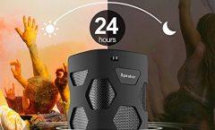 Altavoz Bluetooth Portátil Mugo TQ30 impermeable y karaoke con micrófono con 20 W, en negro