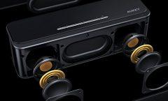 Altavoz Bluetooth Portátil SK-S1-FR de AUKEY 16 W y con una autonomía de 6 horas, en negro