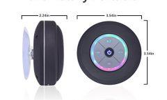 Altavoz Bluetooth Portátil Elitehood Elitehood Black impermeable y con una autonomía de 4 horas, en negro
