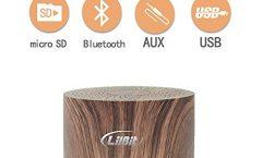 Altavoz Bluetooth Portátil LilBit 14293439 3 W, en madera