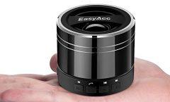 Altavoz Bluetooth Portátil P6697 de EasyAcc karaoke con micrófono 3 W, en titanio negro