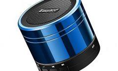 Altavoz Bluetooth Portátil LX-839 de EasyAcc con una autonomía de 8 horas, en azul