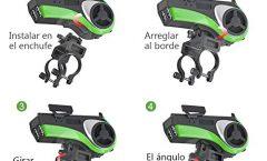 Altavoz Bluetooth Portátil bike de UPPEL 20 W y con una autonomía de 12 horas, en verde