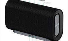 Altavoz Bluetooth Portátil AUKEY Sk-M30 20 W y con una autonomía de 24 horas, en negro