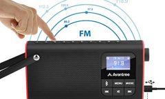 Altavoz Bluetooth Portátil Avantree BTSP-850-BLK 3 W y con una autonomía de 5 horas
