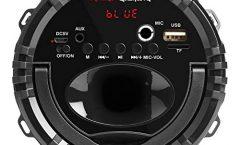 Altavoz Bluetooth Portátil MSB0 de Mars Gaming karaoke 10 W y con una autonomía de 6 horas, en negro