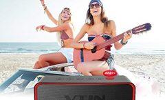 Altavoz Bluetooth Portátil VicTsing YPVNBH172AB-VDAE3 impermeable, en negro