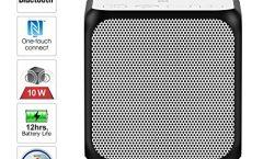 Altavoz Bluetooth Portátil SRS-X11 de Sony impermeable y con una autonomía de 12 horas, en blanco