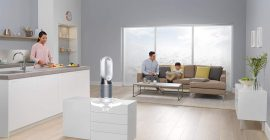 Análisis del Dyson Pure Hot + Cool, el ventilador que mejor purifica el aire