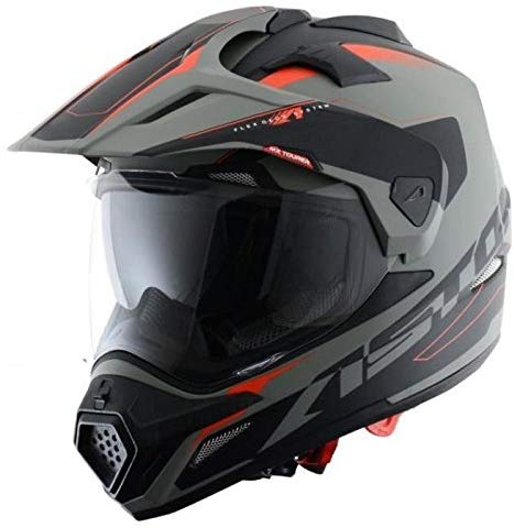 Casco Integral Invierno c/álido Doble Visera Casco de Moto