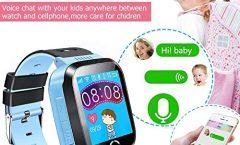 """Smartwatch UKXHY UKX6 para niños con pantalla táctil y 1.4"""", azul"""