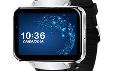 Reloj inteligente LEM4 de PINCHU, plata