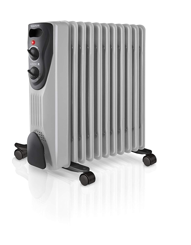 9 Elementos NETTA 2000 W Radiador de Aceite con termostato 3 Niveles de Potencia