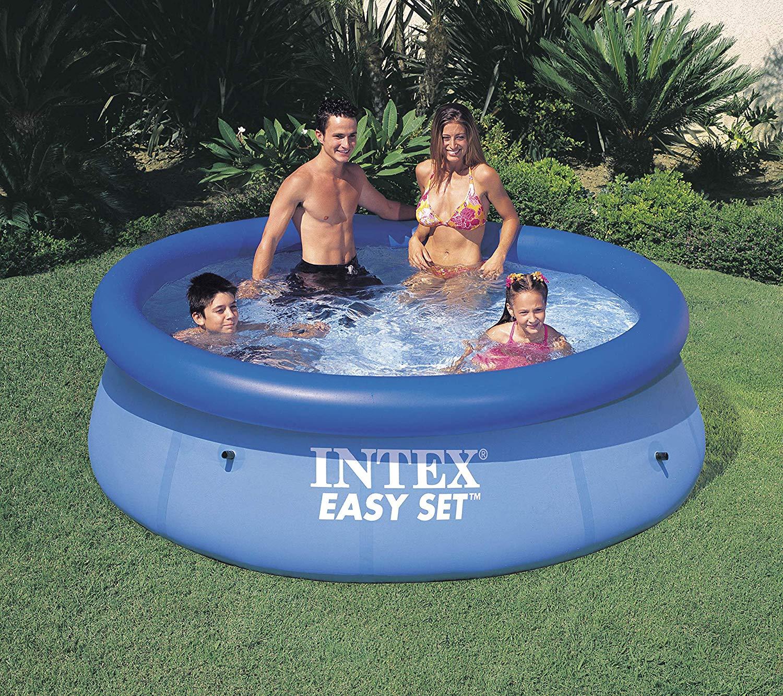 44108304a Esta piscina hinchable tiene una práctica forma hexagonal, que te va a  permitir aprovechar todo el espacio que tenga disponible.