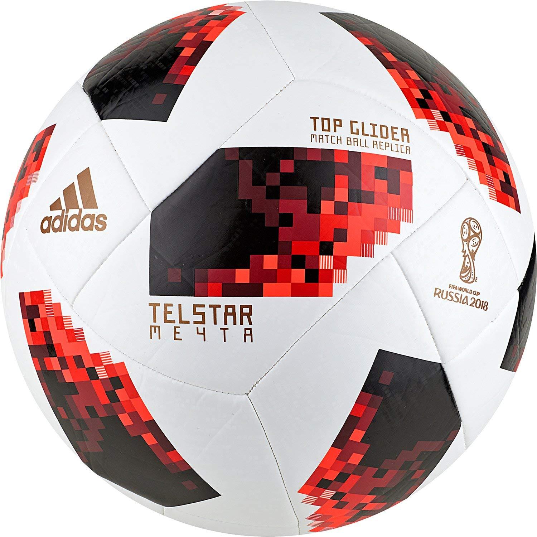 a0137e2f27c Este otro balón, también de la marca Adidas, es una réplica del usado en el  mundial de Rusia 2018. Dispone de un diseño moderno, con una base blanca y  ...
