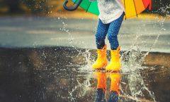 5 botas de agua para niños y otras 5 para adultos