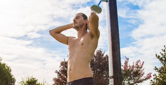 Las mejores duchas de jardín