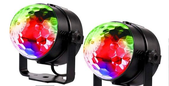 Luz de discoteca LED Agapo: da color a tus encuentros con amigos
