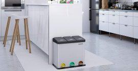 Diez cubos de reciclaje para ser ecofriendly