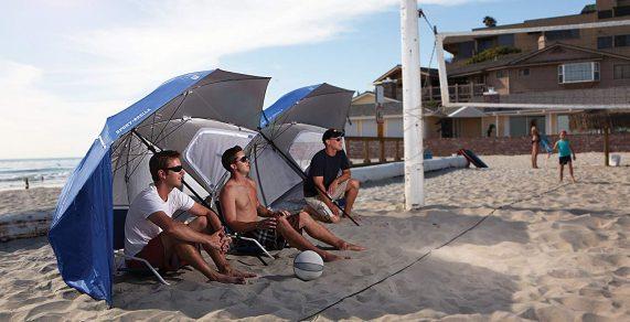 Las mejores sombrillas de playa