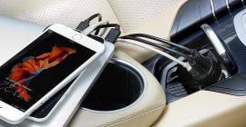 Los mejores cargadores USB para el coche