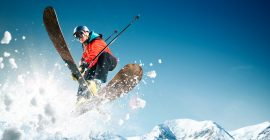 Los mejores cascos de esquí