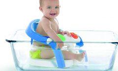 Los mejores asientos para bañera de bebé