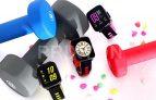 """Smartwatch Prixton SWB25 con pantalla táctil y fitness tracker y 1.5"""", Multicolor"""